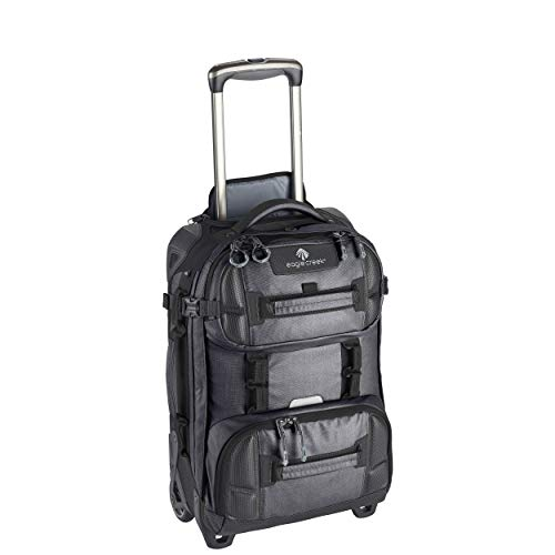 Eagle Creek ORV International Carry-On Rolling Duffel, Asphalt Schwarz (Schwarz) - EC0A3XVS199