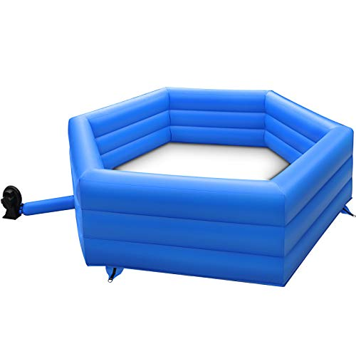 Patiolife 20ft Gaga Ball Pit Inflatable with Electric Air Pump Gagaball Court Inflates in Under 3 Minutes for Outdoor Indoor School Family Activity