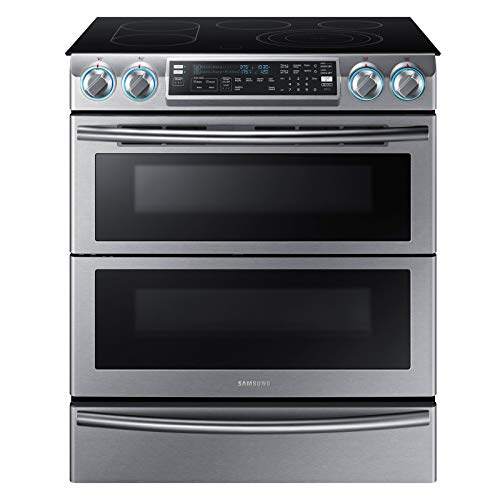 Samsung NE58K9850WS/AA 5.8 Slide-In Electric Range Stainless Steel- Refurbished