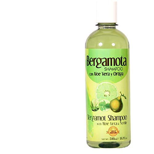 Bergamot Shampoo 500ml, Shampoo de Bergamota 500ml. Hair Loss (OTC)