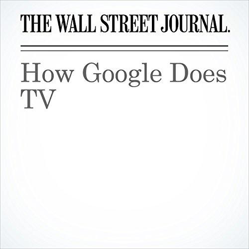 How Google Does TV copertina
