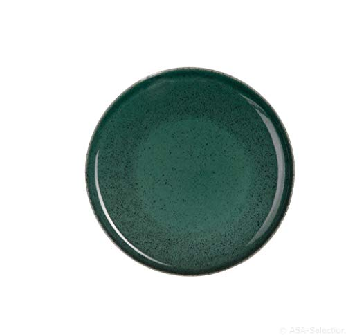 Asa Selection AAS3729074 Teller, Steingut, 22 x 22 cm, mehrfarbig
