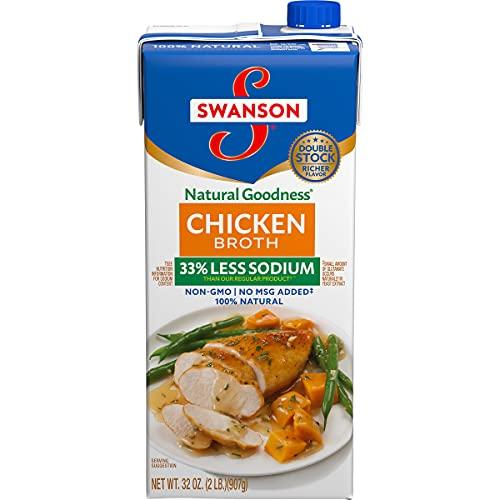 SwansonNatural Goodness Chicken Broth, 32 oz. Carton