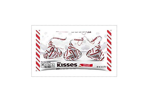 Hershey Kisses Choco Mint Candy Canes, 1 Stück, 215 g
