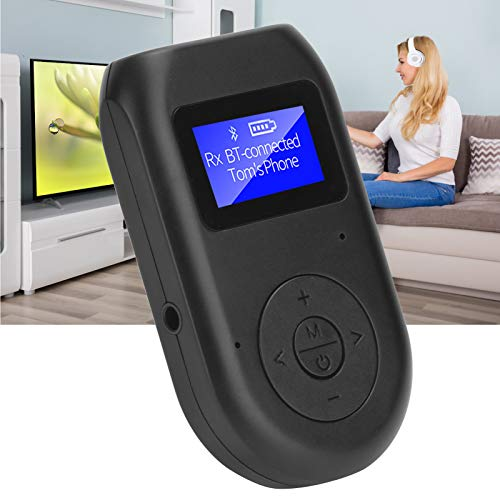 minifinker Transmisor de TV de Calidad de Sonido Claro Receptor Adaptador de Audio inalámbrico, para TV, PC, Reproductor de CD, para MP3 / mp4