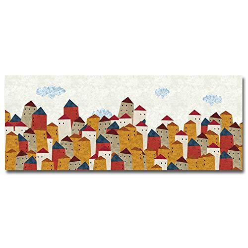 Flduod moderne abstracte lange canvas schilderij foto's posters en prints voor woonkamer huisdecoratie muur kunst40x100cm