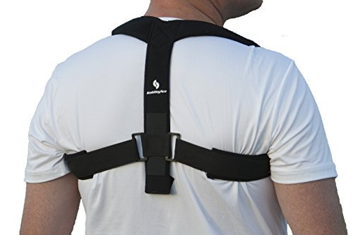 StrictlyStability Upper Back Posture Corrector Brace and Clavicle Support