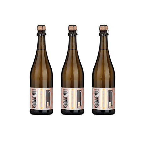 Kolonne Null - Alkoholfreier Sekt – Rosé (3 Flaschen Rosé 2019 (0,75 L)