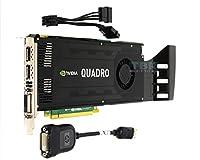 NVIDIA Quadro k40003GB gddr5PCIe x16デュアルDisplayPort DVI - I gk104ビデオグラフィックスカードGPU 900–52033–0000–000