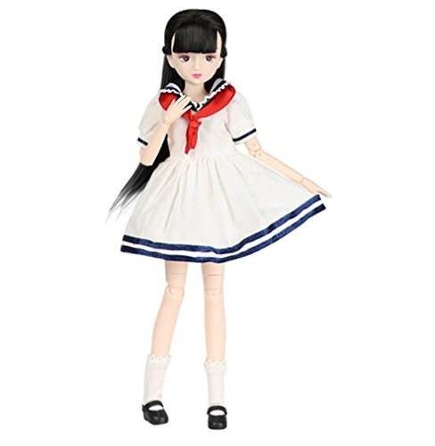 Xiaojing school girl ball jointed doll - by Fortune days toys.