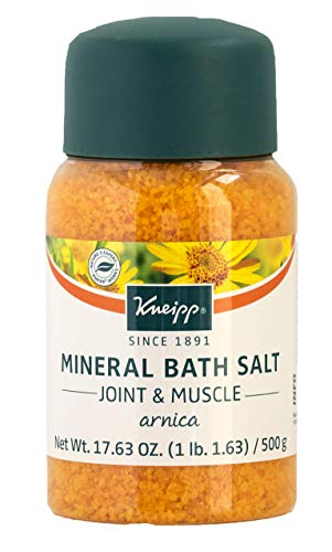 Kneipp Arnica Mineral Bath Salts, Joint & Muscle 17.63 Ounces