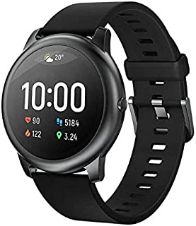 Haylou Solar Smart Watch for Apple iOS iPhone and Android Phones for Men and Woman, Health and Fitness Tracker Smartwatch ...