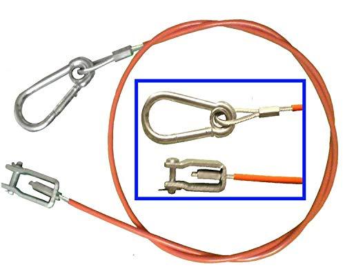 FKAnhängerteile Abreißseil/Sicherungsseil Knott 1050 mm lang - Knott Nr. 203202.001