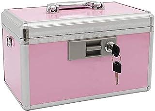 xydstay Medicine Lock Box, First Aid Safe Medication Storage Box,Layered Aluminum Daily Medicine Cabinet,Large Capacity Lo...