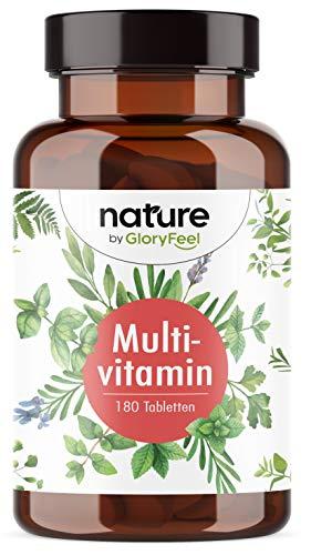 Multivitamin Forte - Premium-Komplex mit Bioaktiv-Formen - Alle wertvollen A-Z Vitamine und Mineralien - Laborgeprüfte in Deutschland hergestellt - 180 Tabletten (6 Monate)