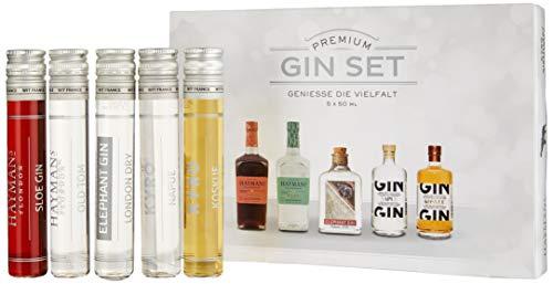 Gin Tasting Set (5 x 50ml) - das perfekte Gin - Tasting-Set - ideales Gin - Geschenk