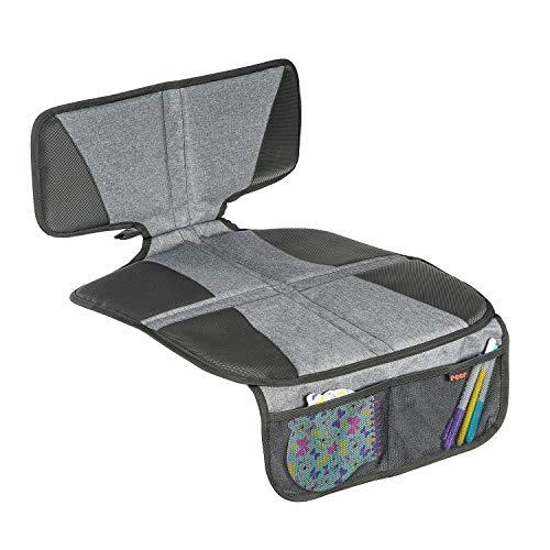 Reer 86061 TravelKid Protect Tapis de siège pour enfant antidérapant certifié ISOFIX Gris