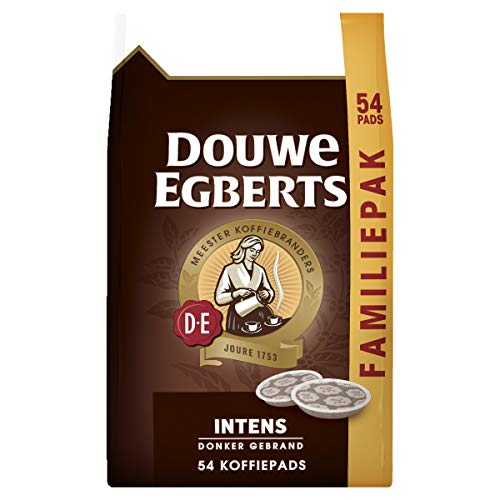 Douwe Egberts Intens Koffiepads, 4 x 54 Pads