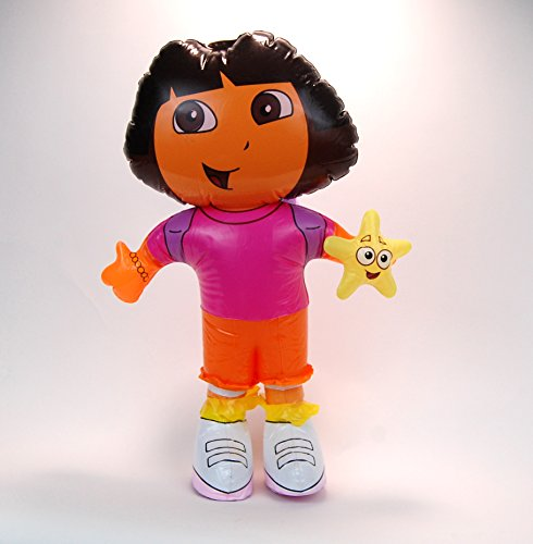 """Dora the Explore Figure Doll Inflatable Balloon Blowup Party Decor Favor 24"""""""