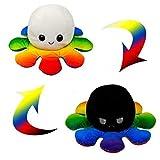 DENGZI Peluche de Pulpo Reversible-Bonitos Juguetes de Peluche muñeco de peluche juguetes creativos el Pulpo Reversible...
