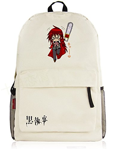 Siawasey Cute Anime Black Butler Bookbag Backpack School Bag Shoulder Bag