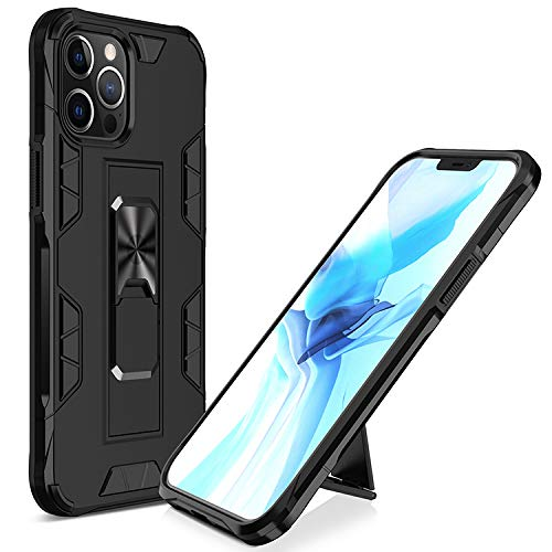 Cenmuttek Compatible with iPhone 12 case/iPhone 12 Pro case| [ Military-Grade ] with Phone Grip and Expanding Stand | 12ft. Drop Tested Protective Case |Kickstand | for iPhone 12 Pro Case(6.1inches)