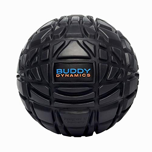 "Buddy Dynamics 4.7"" Massage Ball - Deep Tissue, Trigger Point Massage Ball to Fight Sore Muscles - Excellent for Muscle Recovery, Myofascial Release - Therapy Massage Ball (Large 4.7 inch)"