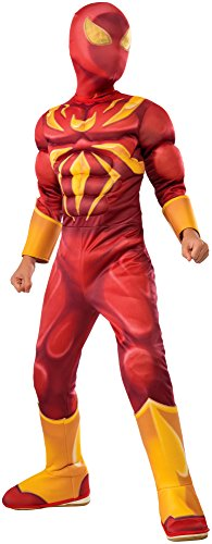 Rubie s Costume Spider-Man Ultimate Deluxe Child Iron Spider Deluxe Child Costume, Small