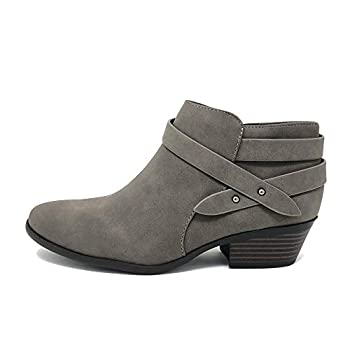 womens gray ankle boots