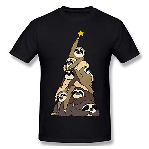 Old Cat Sloth Christmas Tree Funny Fashion Large Black Wild Joker Necessary for Men and Women