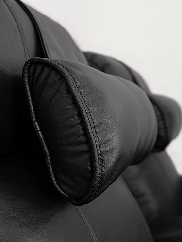 Octane Seating Octane Black Leather Recliner Neck Pillow, 1 Count (Pack of 1)