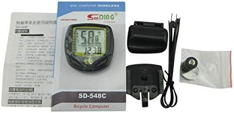 Max 47% Recommended OFF HXSJ W Bike Computer Wireless Speed Bik Waterproof Functions LCD