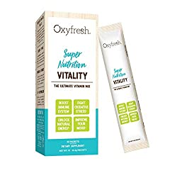 ★ ULTIMATE IMMUNE & TRAVEL NUTRITION - Vitality by Oxyfresh is an easy to mix vitamin drink that combines specialized vitamins, minerals, and antioxidants that work synergistically to support your body's systems at the cellular level.* ★ VITAMIN D3 -...