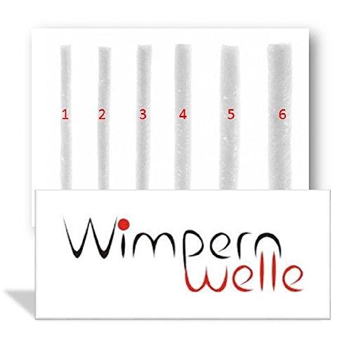 Wimpernwelle - 16bigudíes para permanentes de pestañas disponibles en 6tamaños diferentes