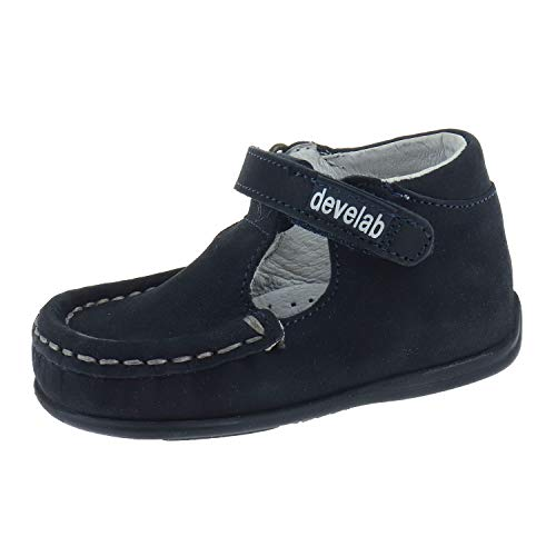Develab Schuhe für Babys Kletthalbschuh Navy 46008634 (19 EU)