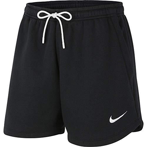Nike Park 20, Pantaloncini Donna, Nero/Bianco/Bianco, S