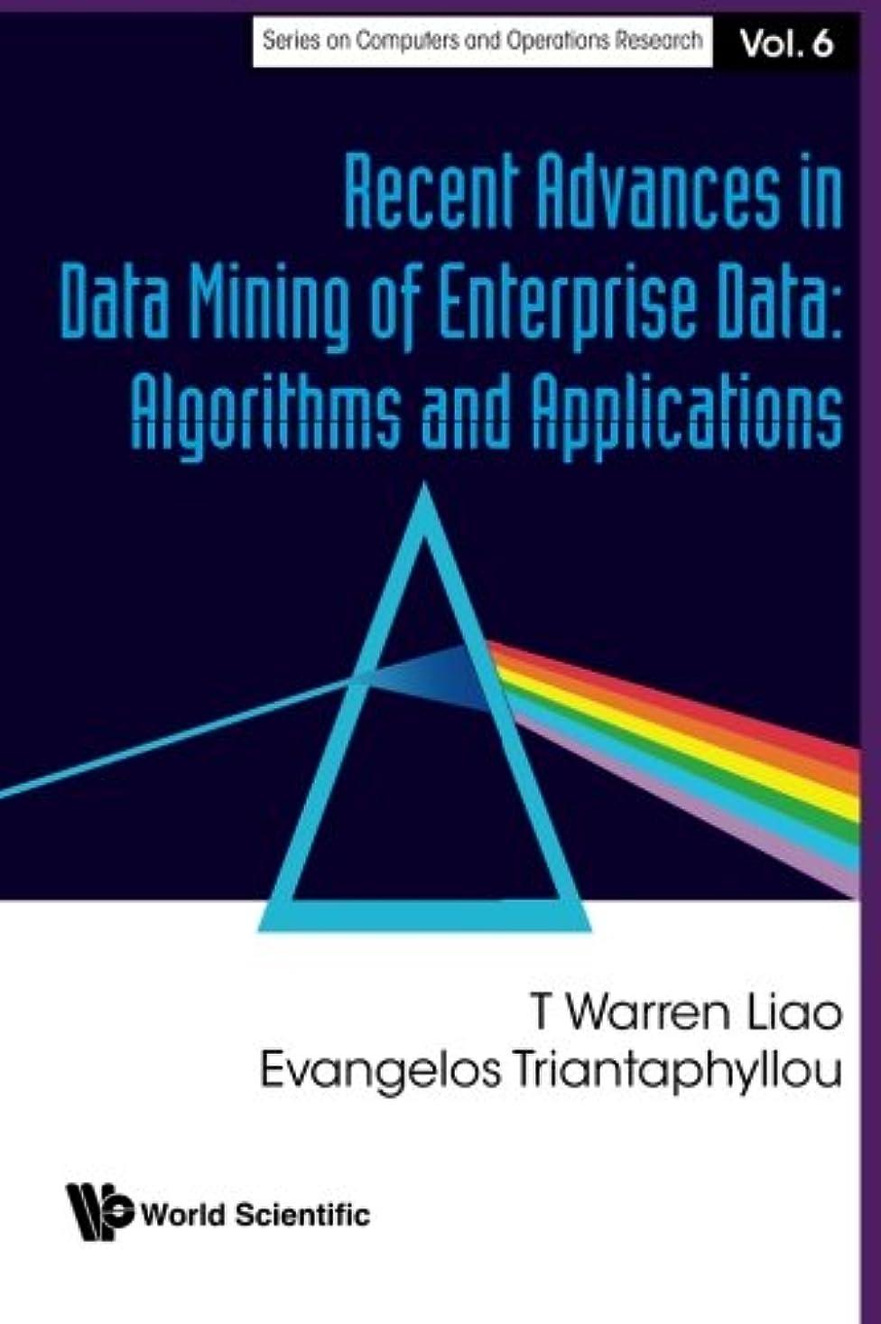 スローシャットカロリーRecent Advances In Data Mining Of Enterprise Data: Algorithms And Applications