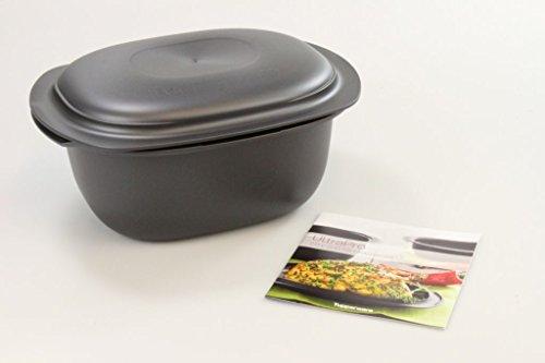 Tupperware 29633 UltraPro H31 Cocotte four avec couvercle, plat, casserole, 3,5l, avec livret de recettes (français non garanti)