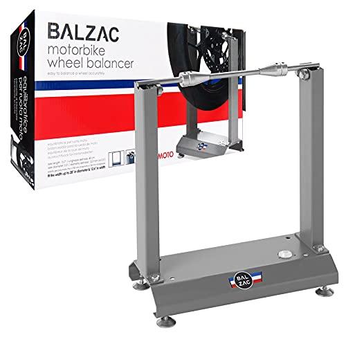 BALZAC Equilibratrice Ruote per moto, motocicli, Equilibratrice ruota moto, Dispositivo di bilanciamento per le ruote.