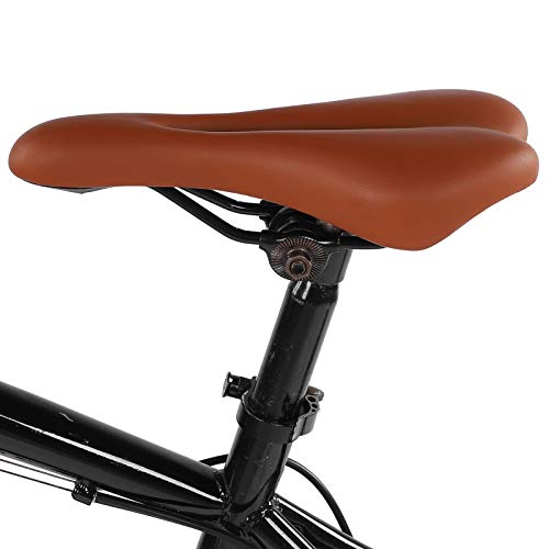 Chanmee Asiento de Bicicleta, sillín de Bicicleta ergonómico Grueso, para Mujeres y...