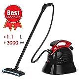 SIMBR Steam Cleaner, Best Steam Mop, Maximum 6M Cleaning Radius, 1.1L Multipurpose Steamer