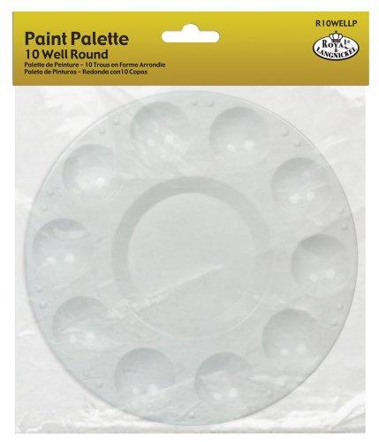 Royal & Langnickel R10WELLP - Paleta redonda de pinturas, de plástico
