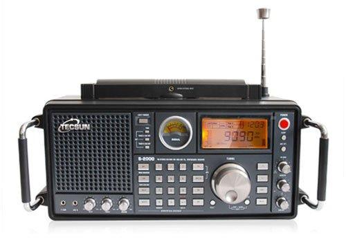 Tecsun S2000 MW/FM/LW/SW con sintonizador PLL SSB Air digital un receptor de Radio de toda la Banda de todo el mundo más Potente de Radio que existe