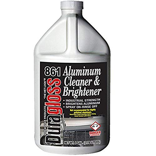 Duragloss 861 Automotive Aluminum Cleaner and Brightener, 1 Gallon, 1 Pack