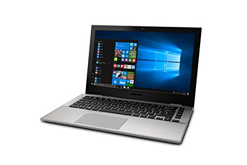 MEDION AKOYA S3409 - Ordenador portátil de 13.3' FHD (Intel Core i5-7200U, 8 GB RAM, 256 GB SSD, Intel HD Graphics, Windows 10) plata - Teclado QWERTY Español