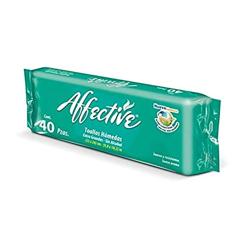 Affective - Toallitas Húmedas Adulto Affective 40 uds