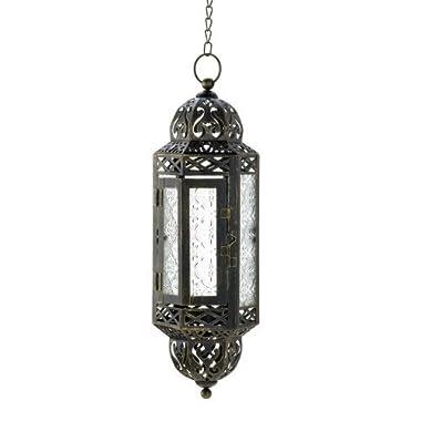 Intricate Hanging Moroccan Lantern - 1 Unit