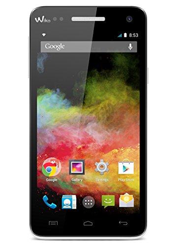 Wiko 9412 Rainbow 4G LTE Smartphone (12,7 cm (5 Zoll) HD IPS-Display, 1,3GHz Quad-Core Prozessor, 8 Megapixel Kamera, 2 Megapixel Frontkamera, 8GB interner Speicher, Android 4.4.2 KitKat) weiß
