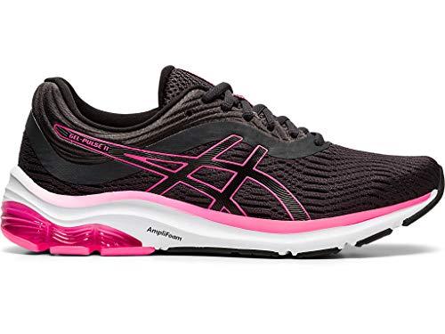 ASICS Women's Gel-Pulse 11 Running Shoes, 8M, Graphite Grey/Black