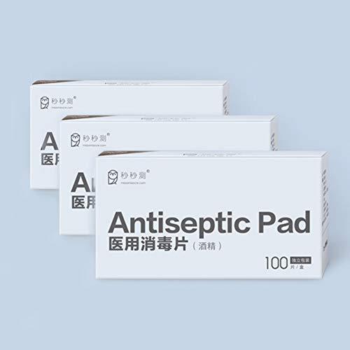 ANYODP 100 Unids/caja Tragbare Almohadillas antisépticas